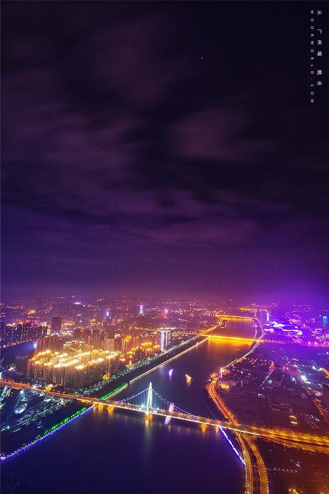 从 广州塔 眺去