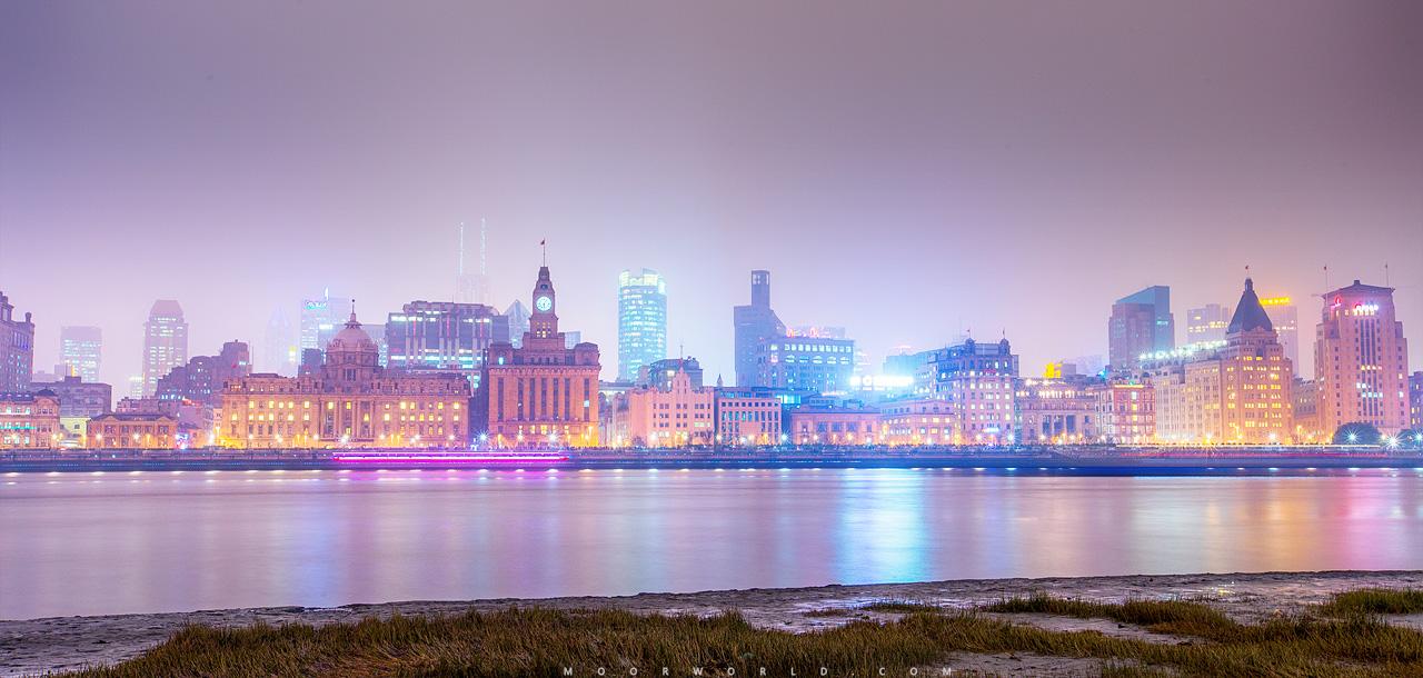 上海,夜景