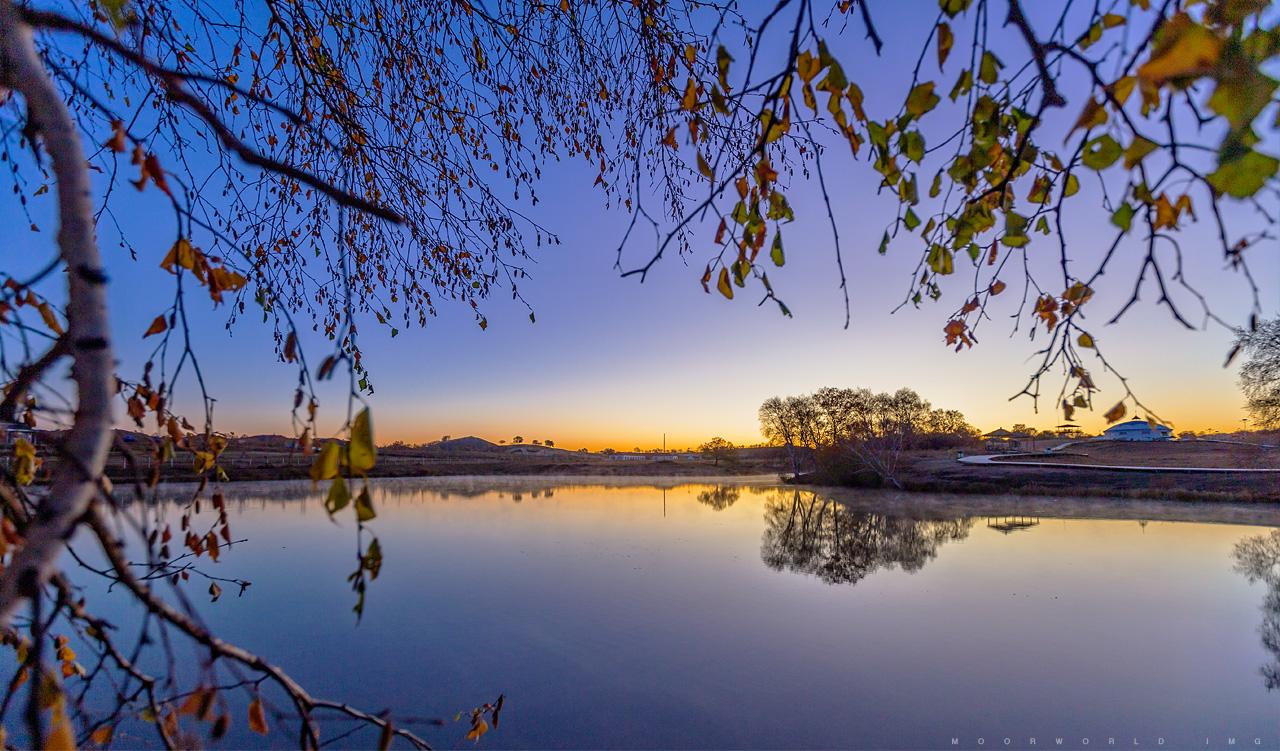 乌兰布统公主湖
